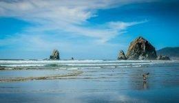 oregon-coast-blue-sky